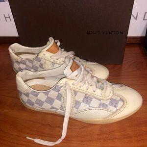 Louis Vuitton Damier Azur sneakers